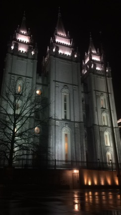 Mormon Church in Salt Lake City